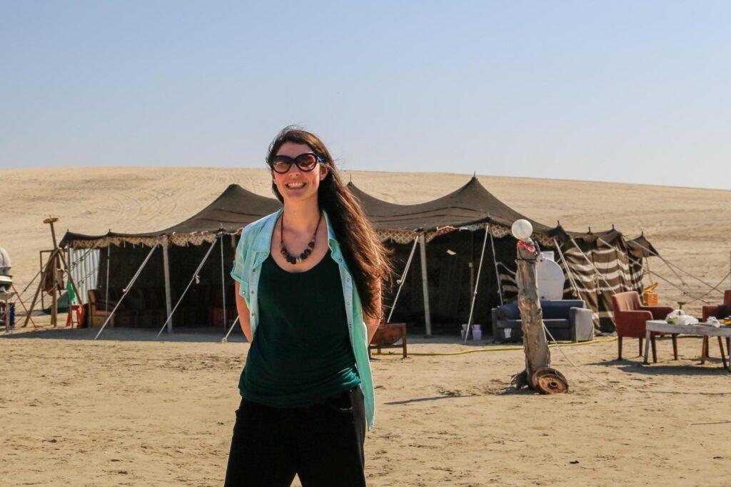 Francesca - Safari nel Deserto di Doha