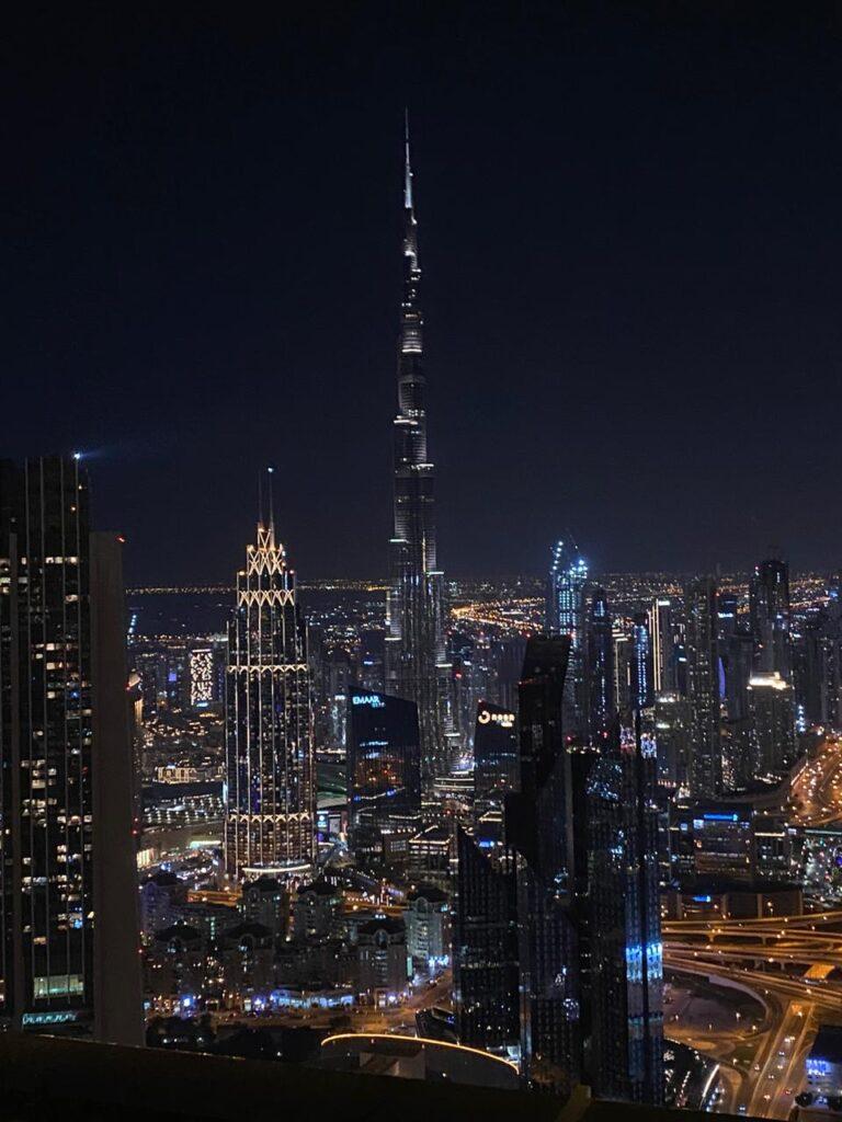 Il Burj Khalifa, il grattacielo più alto al mondo.