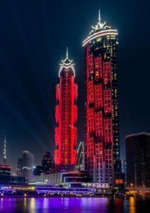 Il JW Marriott Marquis Hotel a Dubai