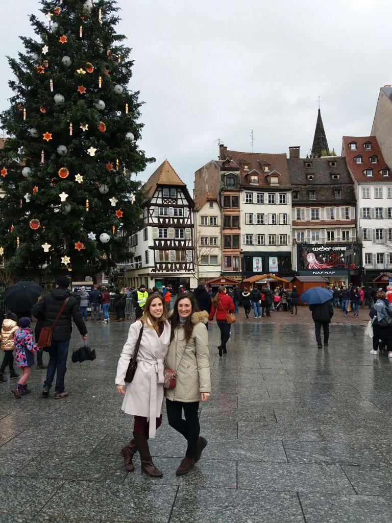 Sara ed Alessandra a Strasburgo in occasione dei famosi mercatini di Natale